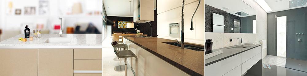 Encimeras de marmol y granito encimeras silestone y compac for Encimeras de cocina silestone