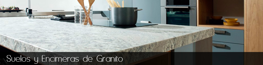 Encimeras y suelos de granito en madrid y toledo for Colores granitos nacionales