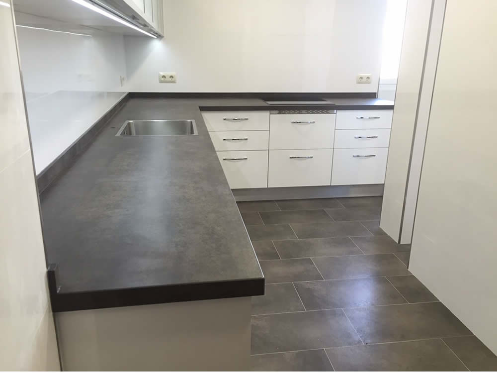 Precios y presupuestos de encimeras de cocinas compac silestone - Precio encimeras de cocina ...